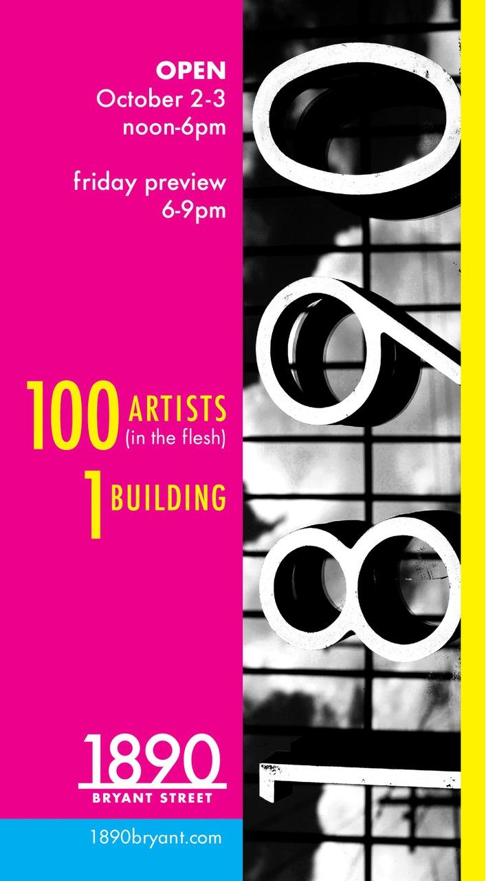 1890 Bryant Street Studios - Open Studios 2021