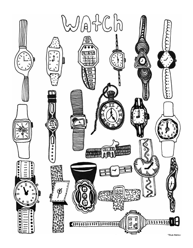Taylor Barstow art - Watch