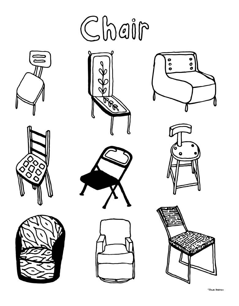 Taylor Barstow art - Chair