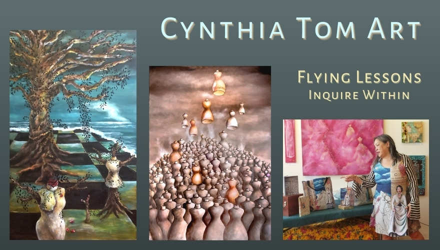 Cynthia Tom - Flying Lessons, Inquire Within