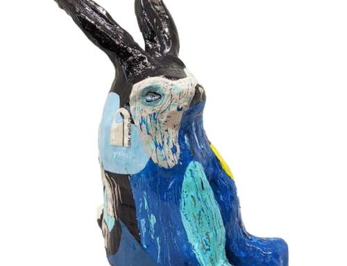 Disapproving Bunny – Neon Jungle 1