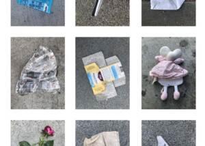 Victoria Heilweil - Trash Grid 1