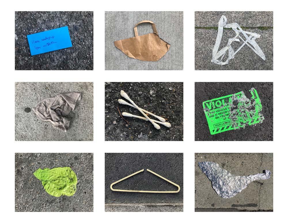 Victoria Heilweil - Trash Grid 2
