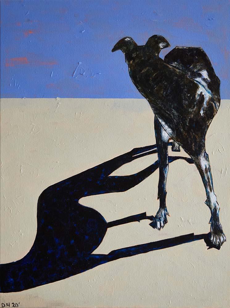 Donald Hershman - Dog in the Desert