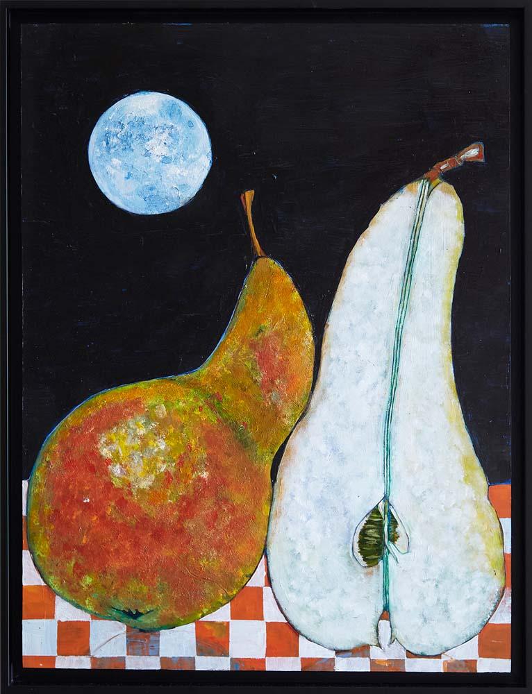 Donald Hershman - Pears in the Moon Light