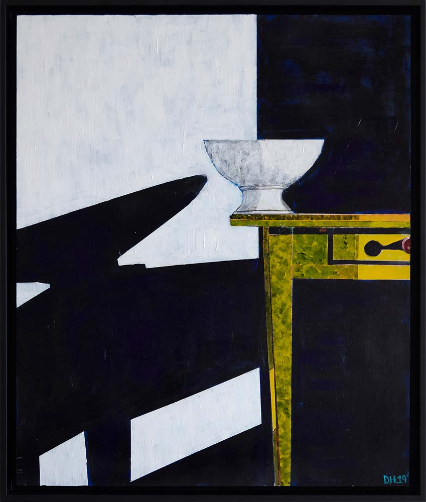 Donald Hershman - Table with Vase and Shadow #5