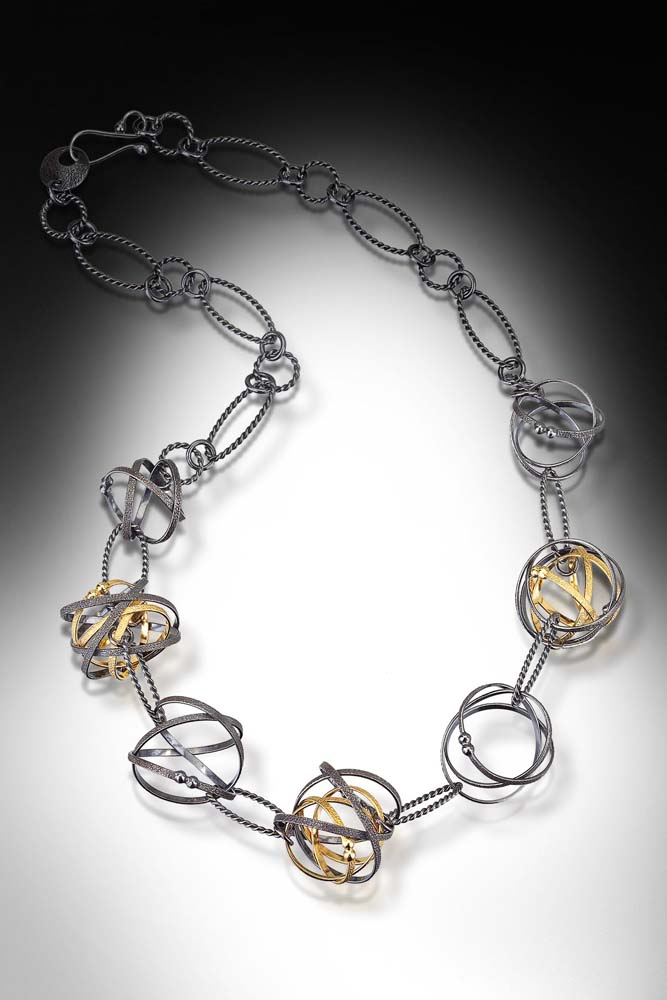 Kathleen Maley - Kathleen Maley - Mixed Möbius Necklace