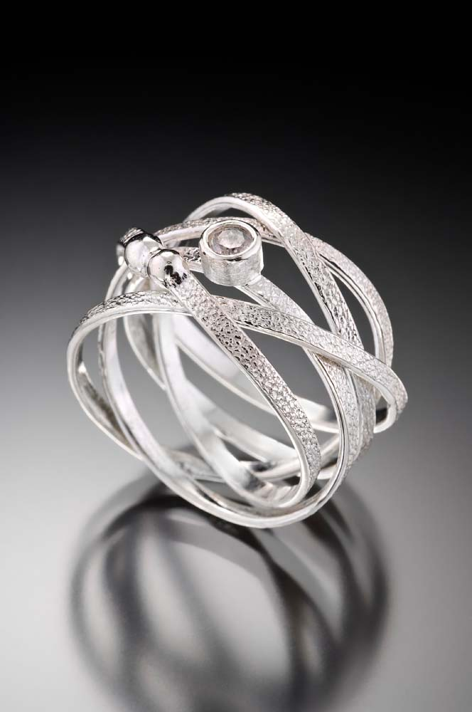 Kathleen Maley - Silver Nest Ring