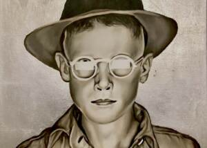 Paul Morin - Boy With Hat And Glasses