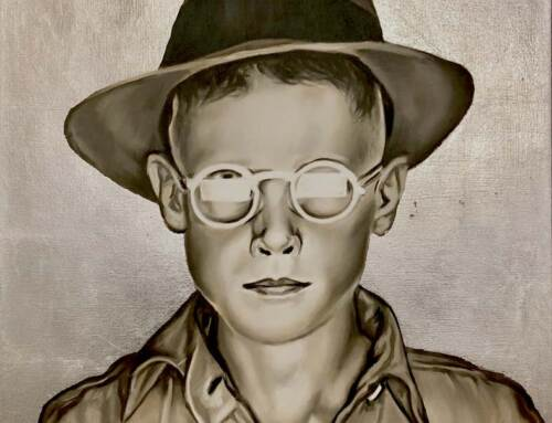 Boy With Hat And Glasses