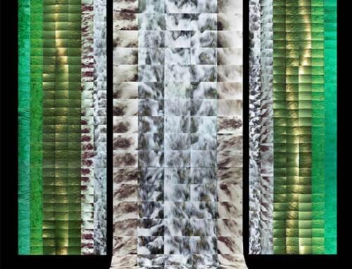 WATER photo kimono