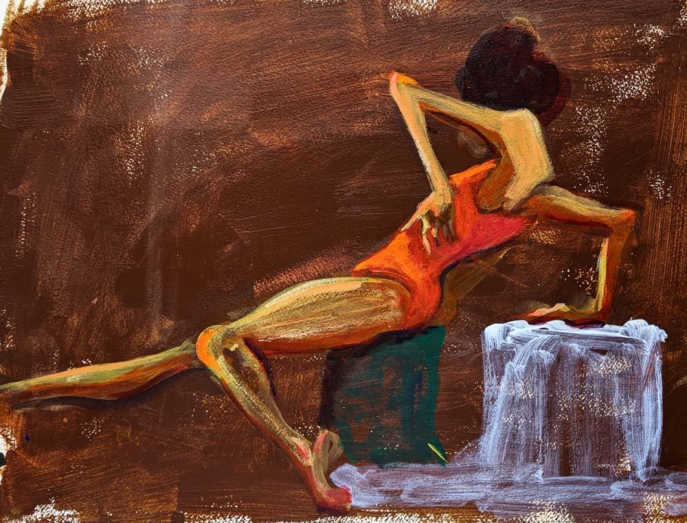 Jean Oppermann - Little Red Bathing Suit