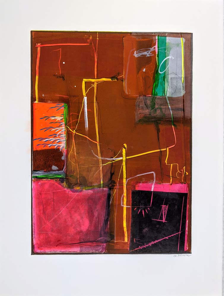 Gustavo Rivera - Pandemic Prints - #1