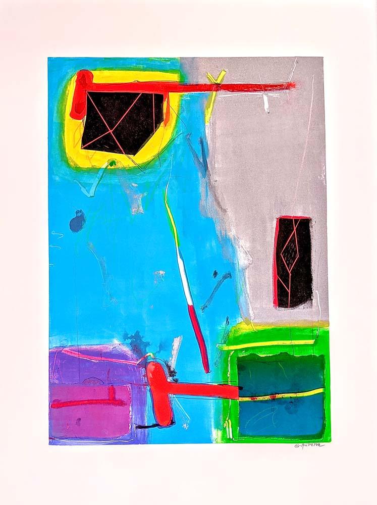 Gustavo Rivera - Pandemic Prints #4