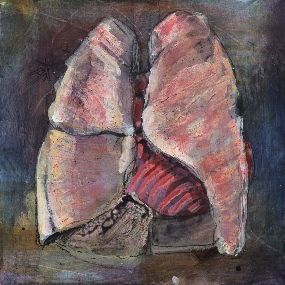 William Salit - Badly remembered anatomy / pulmonary