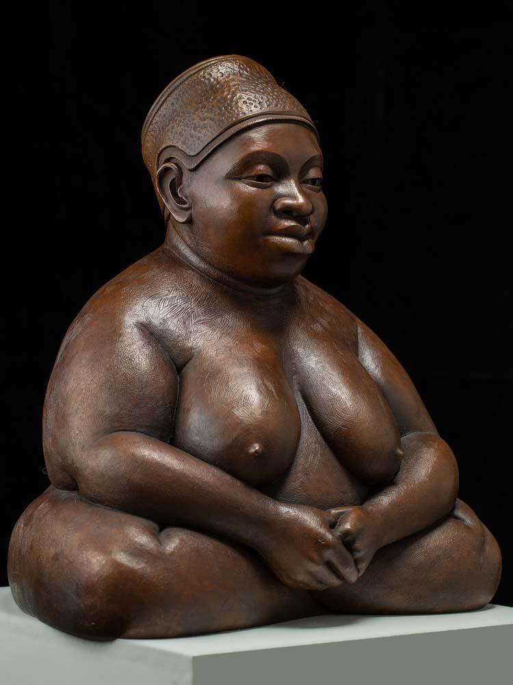 Charles Stinson - Ife Buddha (bronze)