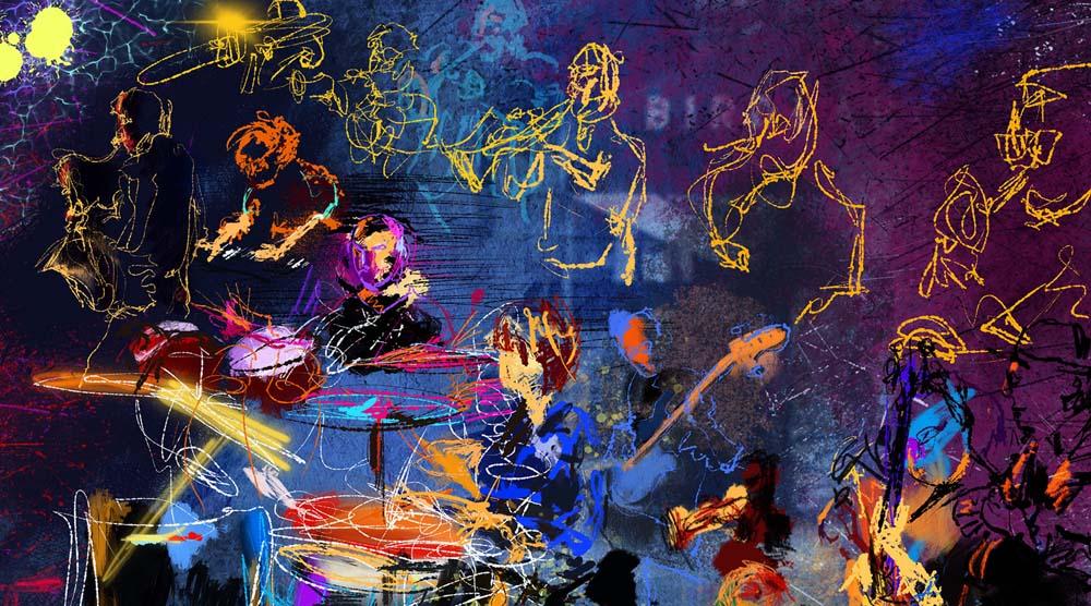 Jeremy Sutton art - Art of Jazz