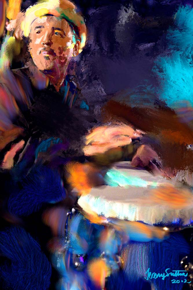 Jeremy Sutton art - John Santos