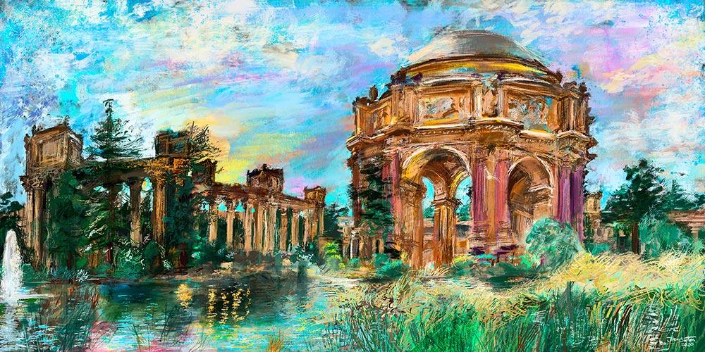 Jeremy Sutton art - Palace of Fine Arts