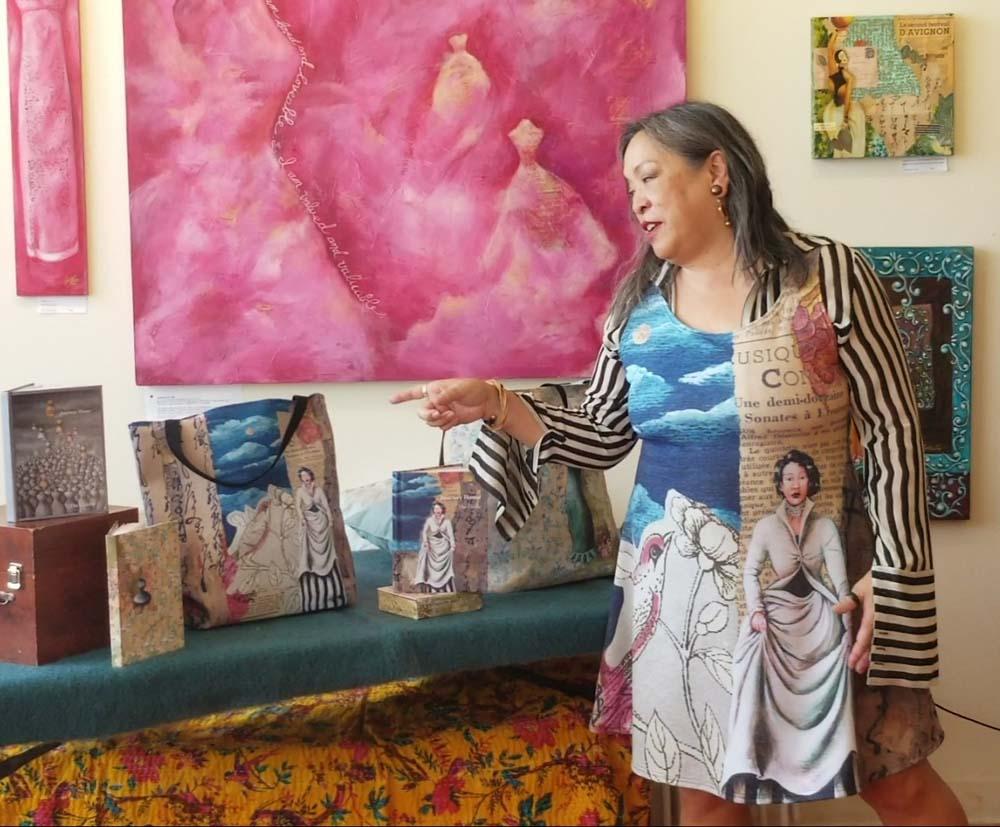 Cynthia Tom - Merch as Meditation. Functional art.