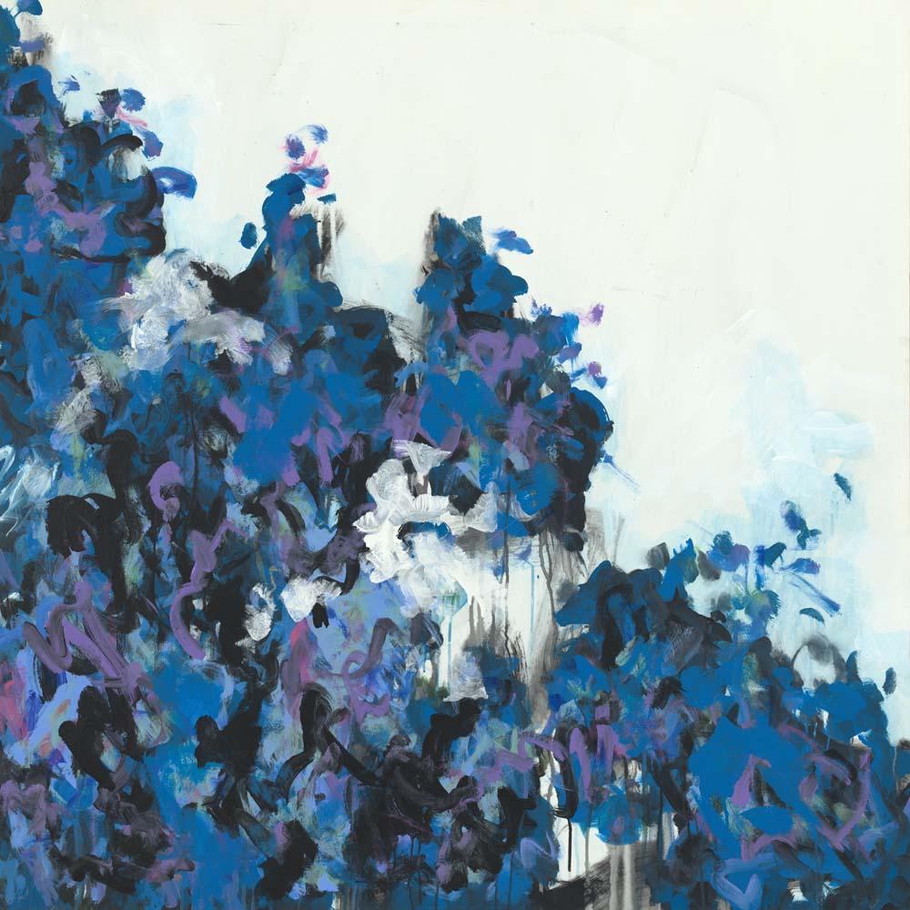 John Warren Travis - Dahlia Bleu III