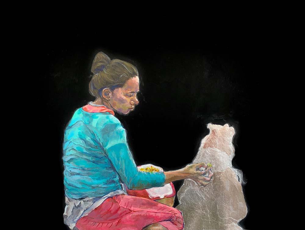 Ytaelena Lopez - Desamparo: mother